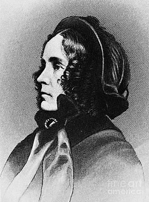 Jane Pierce (1806-1863) Art Print by Granger