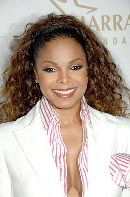 Janet Jackson At Arrivals For 19th Art Print by Everett