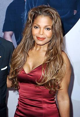 Janet Jackson At Arrivals For Why Did I Art Print