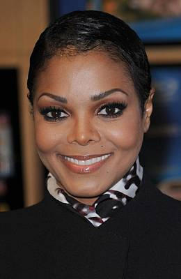 At In-store Appearance Photograph - Janet Jackson At In-store Appearance by Everett