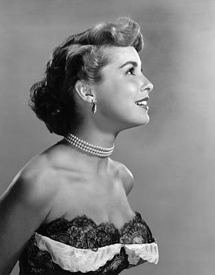 Janet Leigh, Ca. Early 1950s Art Print by Everett