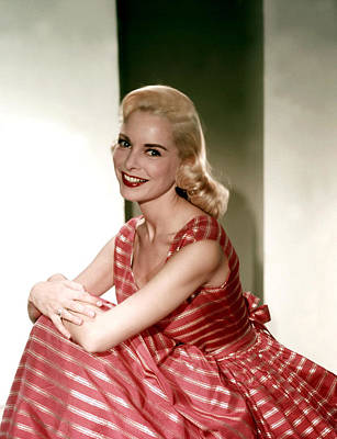 Full Skirt Photograph - Janet Leigh In The 1950s by Everett