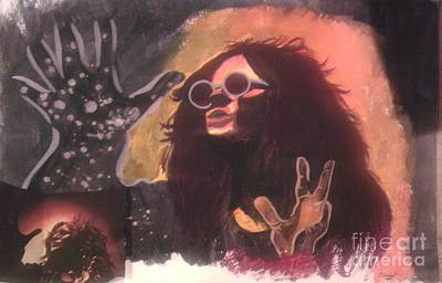 Janis Joplin Drawing - Janis by Taylor Made Designs