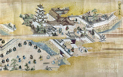 Photograph - Japan: Castle, C1600 by Granger