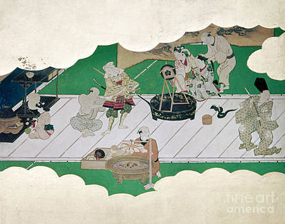 Japan: Kabuki Actors Art Print