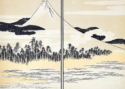 Photograph - Japan: Mount Fuji by Granger
