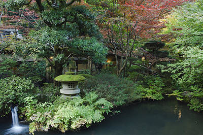 Japan Tokyo Japanese Garden Art Print by Rob Tilley
