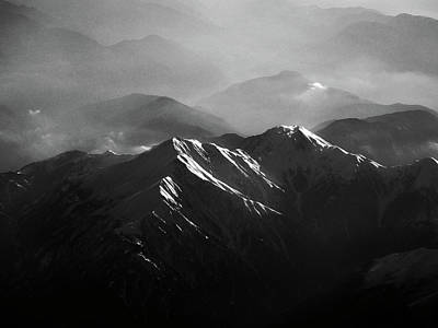 Japanese Alps Art Print by José Rentería Cobos photography