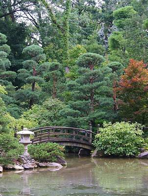 Photograph - Japanese Garden by Bruce Bley