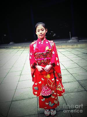 Photograph - Japanese Girl by Eena Bo