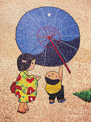 Photograph - Japanese Mosaic by Eena Bo