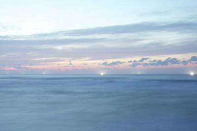 Clouds Over Sea Photograph - Japanese Sea by Kaneko Ryo