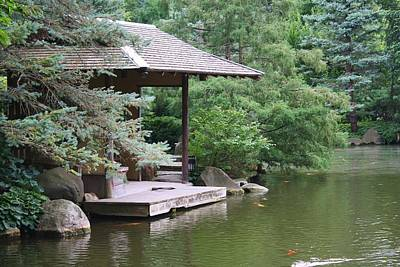 Photograph - Japanese Tea House by Bruce Bley