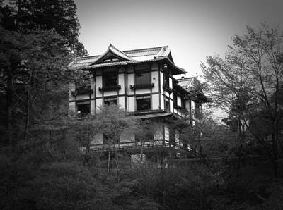 Temple Photograph - Japanese Traditional House by Naxart Studio