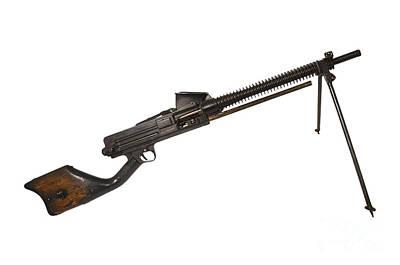 Japanese Type 11 Light Machine Gun Art Print