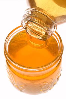 Jar Of Honey Art Print by Garry Gay