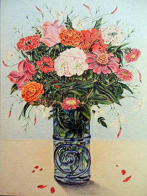 Jasmine Art Print by HHolly Bazmi