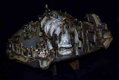 Sculpture - Jasmine Revolution by Gloria Ssali