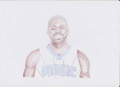 Jason Richardson Art Print by Toni Jaso