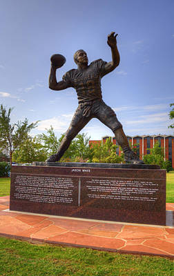 Oklahoma University Wall Art - Photograph - Jason White by Ricky Barnard