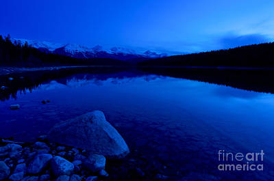 Jasper - Patricia Lake At Dusk 3 Art Print by Terry Elniski