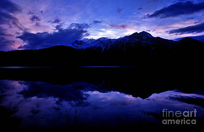 Jasper - Patricia Lake At Dusk Art Print by Terry Elniski