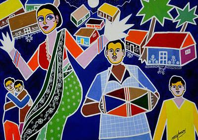 Jatara Art Print by Johnson Moya