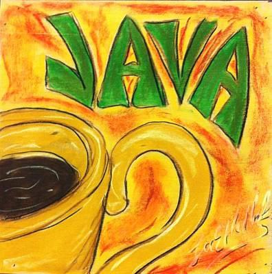 Painting - Java by Lee Halbrook
