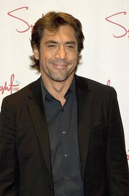 Critics Circle Award Photograph - Javier Bardem At Arrivals For 73rd New by Everett