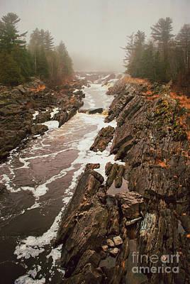 Photograph - Jay Cooke Under Fog by Mark David Zahn