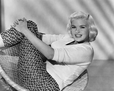 Jayne Mansfield, Ca. Late 1950s Art Print by Everett