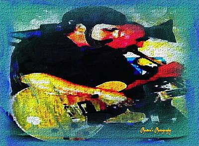 Jazz Duo Art Print by Sadie Reneau