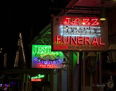 Photograph - Jazz Funeral by Cheri Randolph