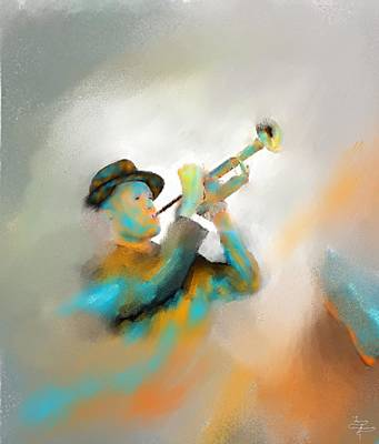 Colorful Painting - Jazz  by Larry Cirigliano