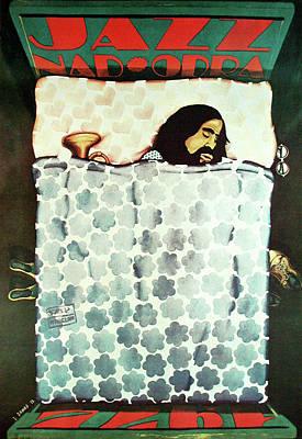 Mixed Media - Jazz Nad Odra 1973 by Jan Sawka