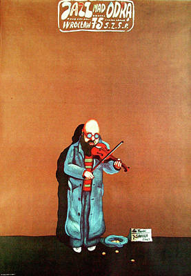 Mixed Media - Jazz Nad Odra 1975 by Jan Sawka