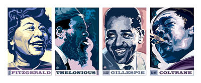 Jazz Royalty Free Images - Jazz Portrait Series Part 1 Royalty-Free Image by Garth Glazier