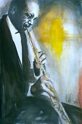 Jazz Preparation Art Print by Gregory DeGroat