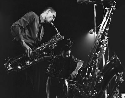 Photograph - Jazz Scene by Dragan Kudjerski