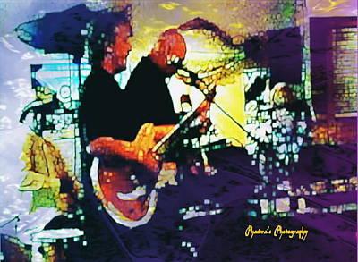 Jazz Scene Art Print by Sadie Reneau