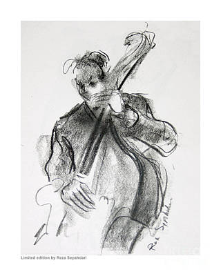 Drawing - Jazzworks by Reza Sepahdari