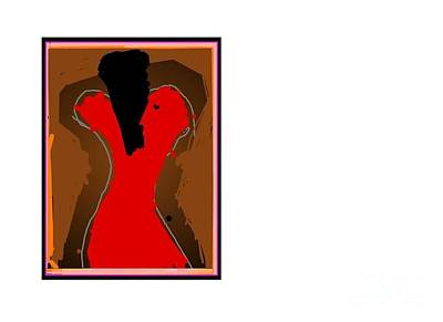 Harlem Digital Art - Jazzy Lady by Derek M A Alexander