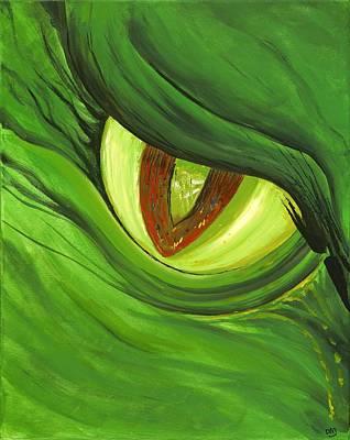 Painting - Jealousy by David Junod