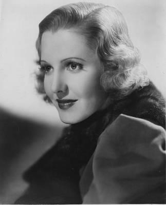 Publicity Shot Photograph - Jean Arthur, Columbia Pictures, 1936 by Everett