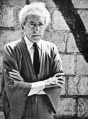Jean Cocteau Photograph - Jean Cocteau (1889-1963) by Granger