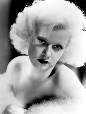 Jean Harlow, Ca. 1932-33 Art Print by Everett