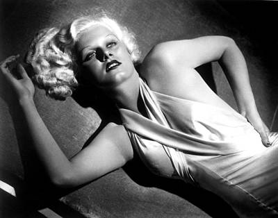 Jean Harlow, Fashion Still For Dinner Art Print by Everett