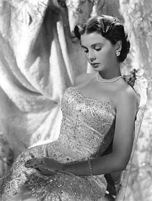 Jean Simmons Art Print by Everett