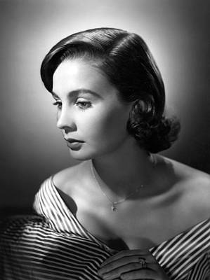 Jean Simmons, Mgm Portrait, Ca. 1953 Print by Everett