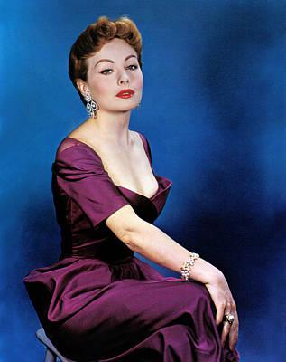1950s Fashion Photograph - Jeanne Crain, 1953 by Everett